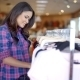 Woman Shopping For Clothes - VideoHive Item for Sale