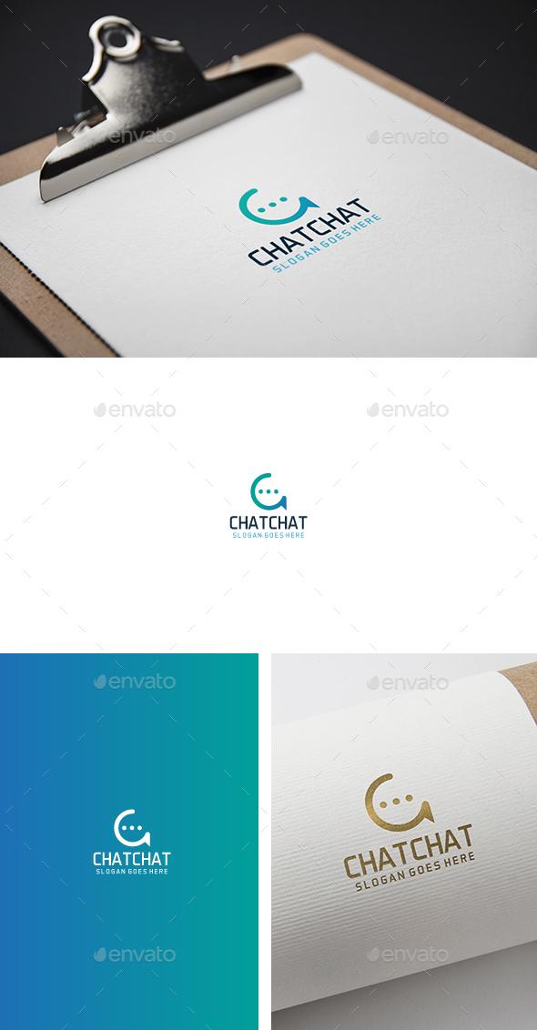 C chat Letter Logo - Letters Logo Templates