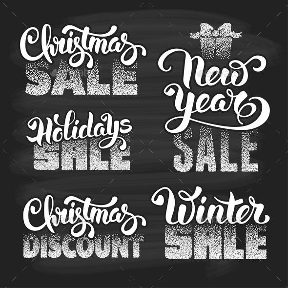 Christmas Sale Design - Christmas Seasons/Holidays