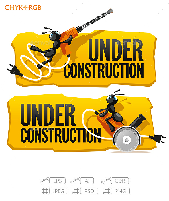 Ants Under Construction - Animals Characters