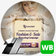 Fashion & Sale Web & Facebook Banners - GraphicRiver Item for Sale