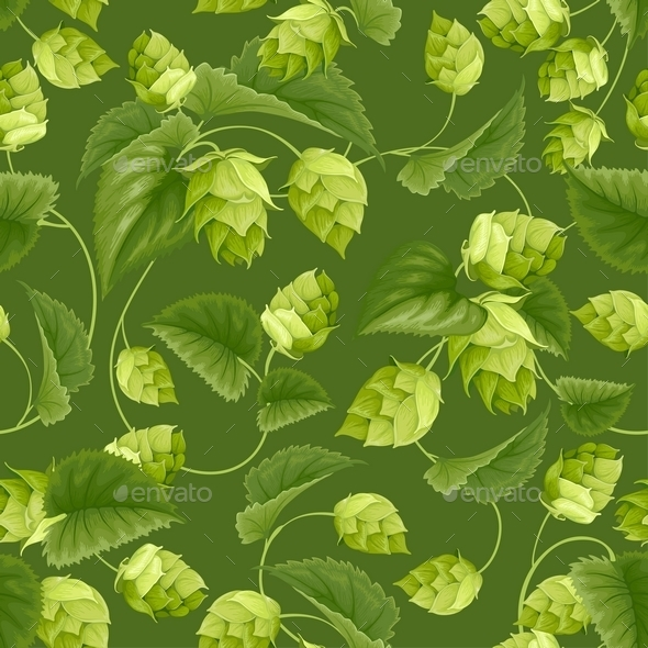 Hops - Backgrounds Decorative