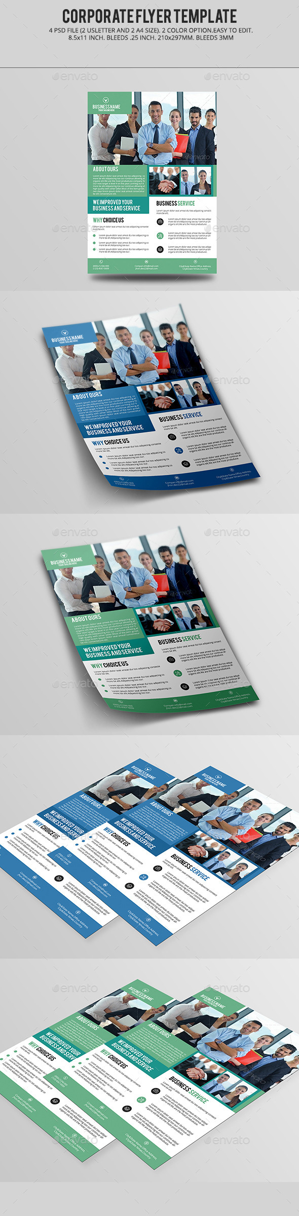 Corporate Flyer V02 - Corporate Flyers