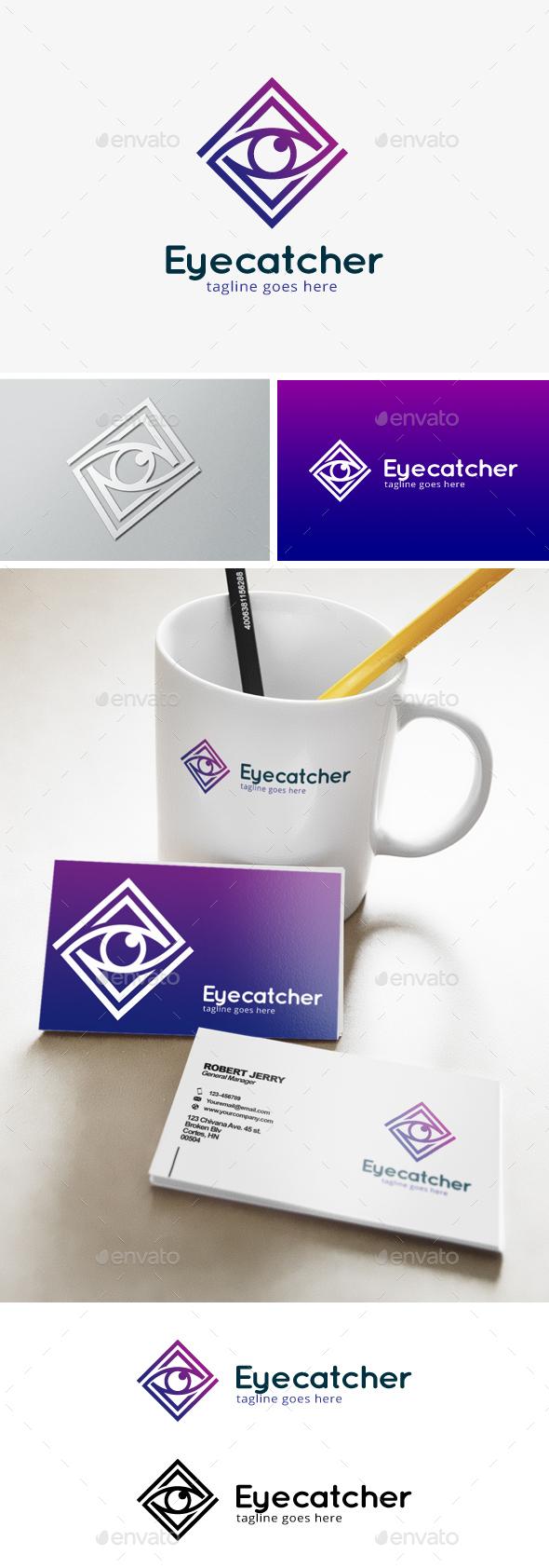 Eye Catcher Logo - Objects Logo Templates