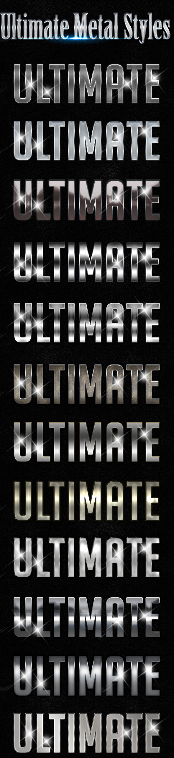 Ultimate Styles - Styles Photoshop