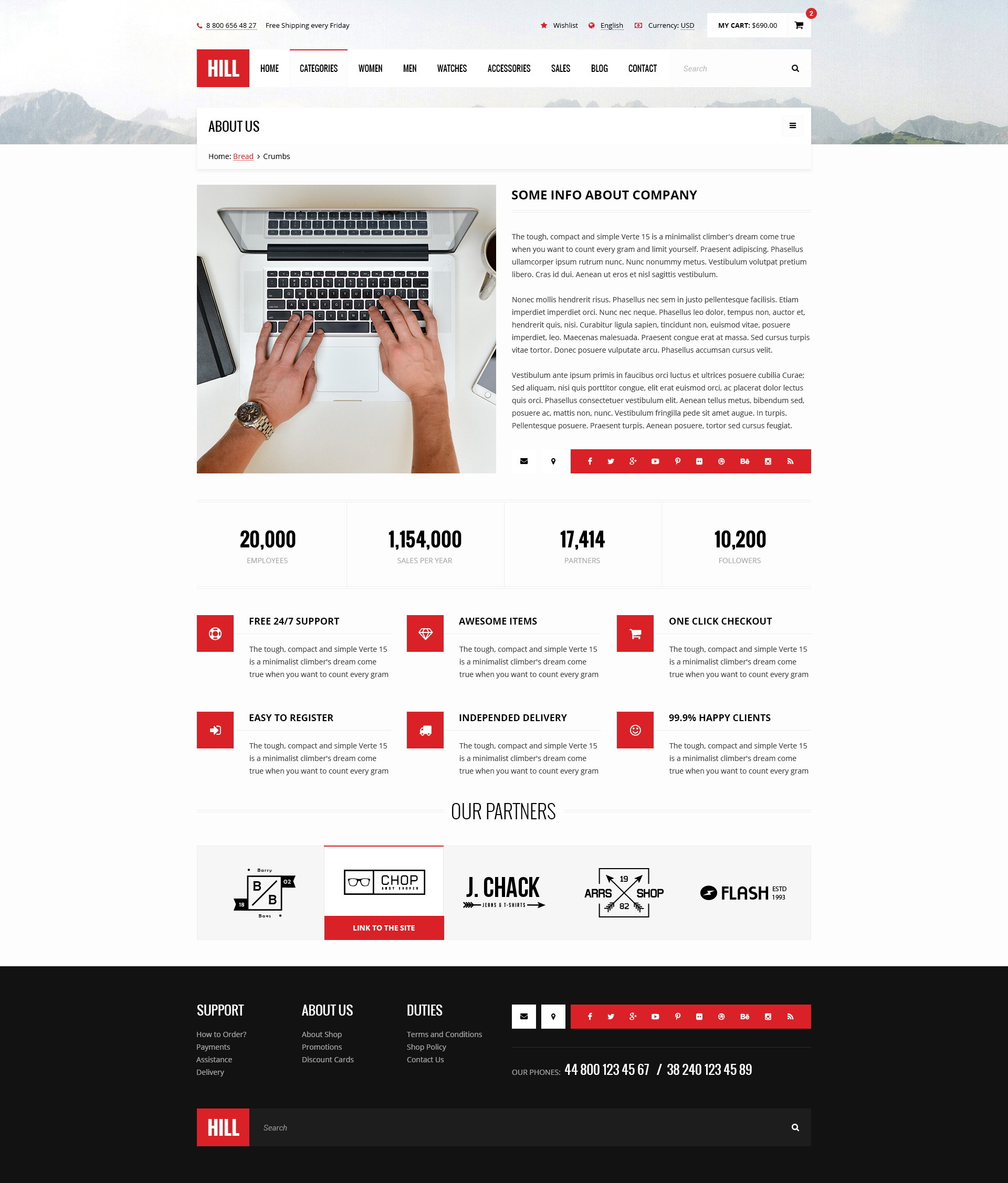 Hill premium bootstrap ecommerce psd template by wwwebinvader hill premium bootstrap ecommerce psd template pronofoot35fo Images