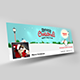 Christmas Facebook Banner v2 - GraphicRiver Item for Sale