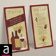 DL / Rack Card - Wine Bar