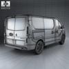Renault trafic (mk3) panelvan 2014 590 0004.  thumbnail