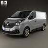 Renault trafic (mk3) panelvan 2014 590 0006.  thumbnail