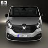 Renault trafic (mk3) panelvan 2014 590 0010.  thumbnail