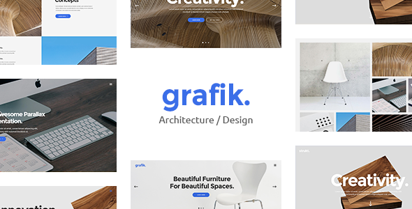 Grafik – Portfolio, Design & Architecture Theme