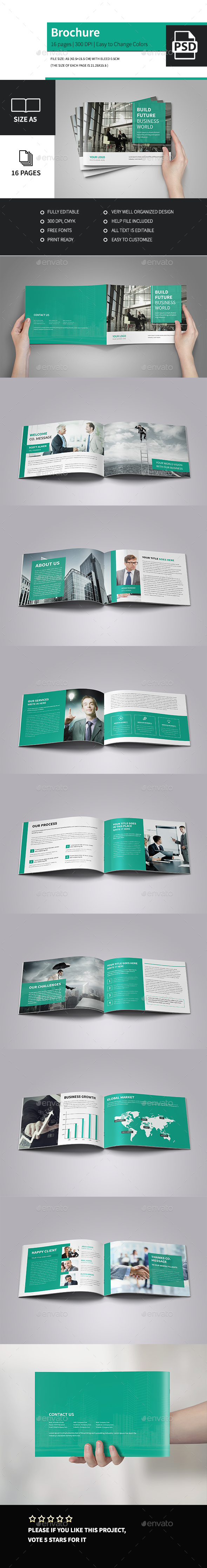 Corporate Business Brochure A5  - Corporate Brochures