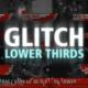 Glitch Lower Thirds Nulled