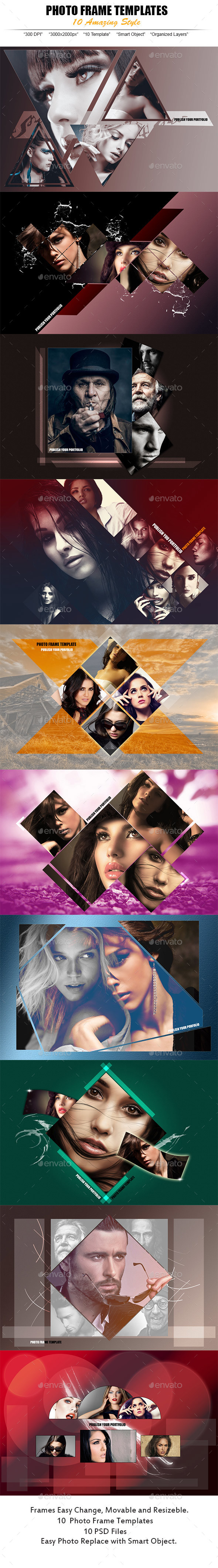 Web Photo Templates - Photo Templates Graphics