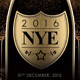 NYE New Year's Eve Champagne Flyer - GraphicRiver Item for Sale