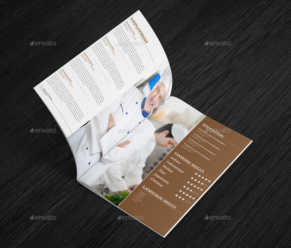 Chef Resume Sample%0A game designer resume Chef Resume Template Page Booklet