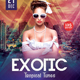 Exotic - PSD Flyer - GraphicRiver Item for Sale