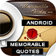 Memorable Quotes App With CMS - Android - CodeCanyon Item for Sale