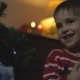 Child Taking Gifts Christmas Tree - VideoHive Item for Sale
