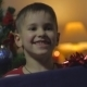 Boy Receives a Christmas Gift - VideoHive Item for Sale