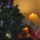 Little Girl Decorate Chrismass Tree - VideoHive Item for Sale