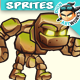 Stone Giant 2D Game Character Sprites 24 - GraphicRiver Item for Sale