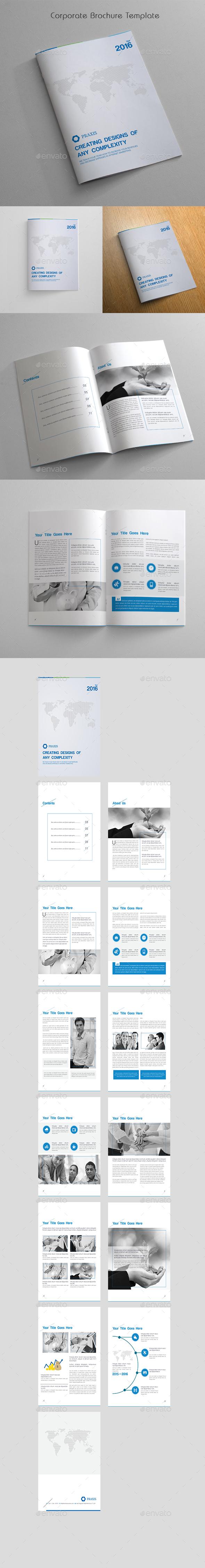 Corporate Brochure Template - Corporate Brochures
