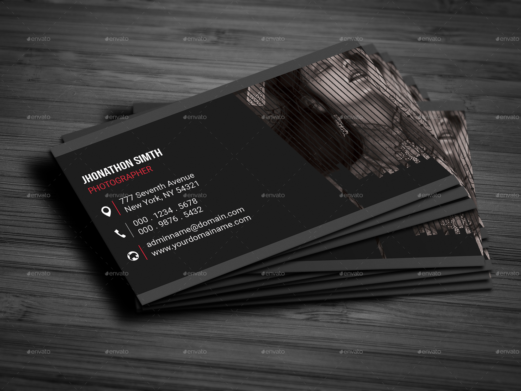 Fashion Photography Business Card by deviserpark | GraphicRiver