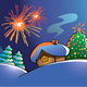 Christmas Fireworks - GraphicRiver Item for Sale