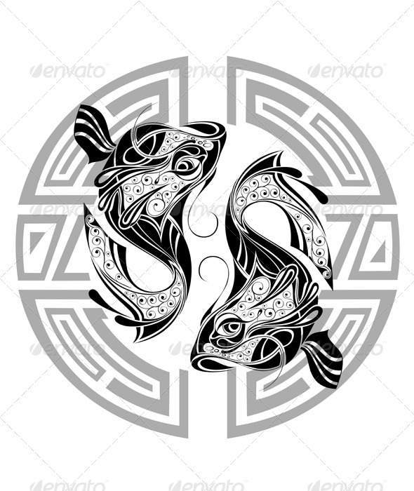 Pisces - Decorative Vectors