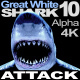 Shark 10 Attack - VideoHive Item for Sale