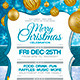 Christmas Party Invitation Card - GraphicRiver Item for Sale
