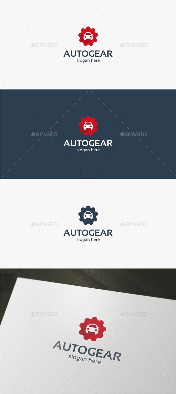 Auto Gear - Logo Template - Objects Logo Templates