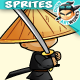 Samurai Character Sprites O4 - GraphicRiver Item for Sale