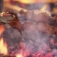 Kebab Prepared On The Grill In The Restaurant. - VideoHive Item for Sale
