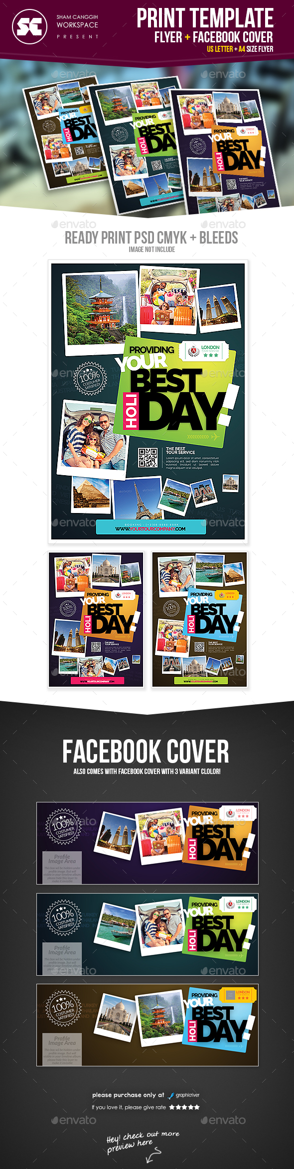 Travel Holiday Flyer - Holidays Events