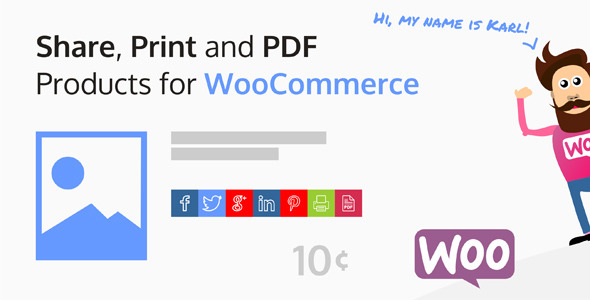 Share, Print and PDF Products for WooCommerce - CodeCanyon Item for Sale