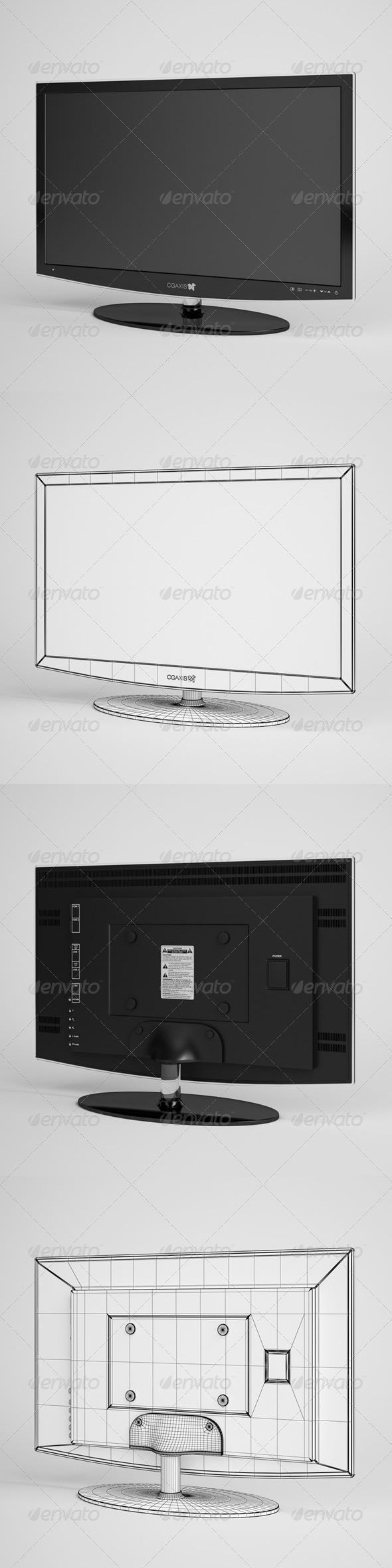 CGAxis TV Flatscreen Electronics 04 - 3DOcean Item for Sale