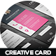 Creative Business Card Design V-1 - GraphicRiver Item for Sale