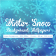 Winter Snow Backgrounds Wallpaper - GraphicRiver Item for Sale