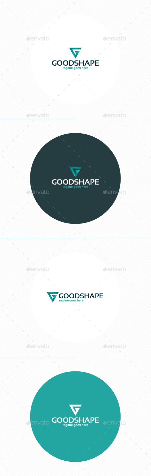 Good Shape Logo • Letter G - Letters Logo Templates