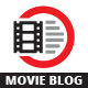 Movie Blog Logo - GraphicRiver Item for Sale