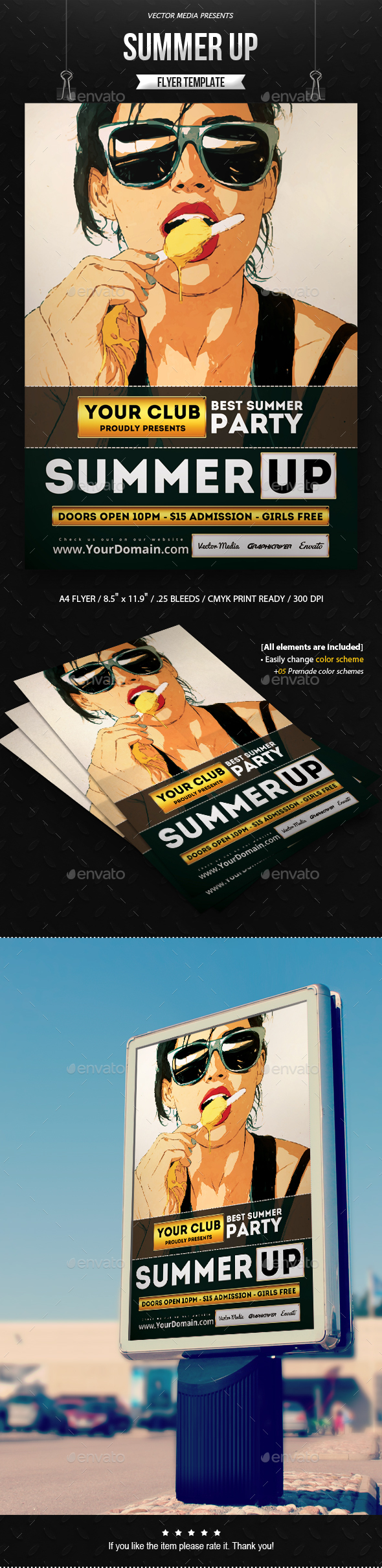 Summer Up - Flyer - Clubs & Parties Events