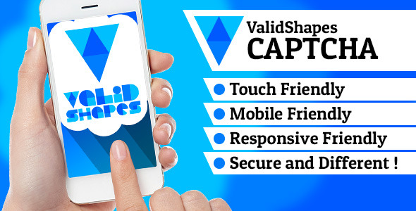 ValidShapes CAPTCHA - CodeCanyon Item for Sale