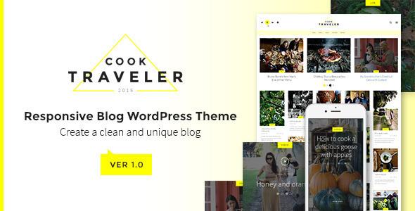 Cook Traveler – Responsive Blog WordPress Theme