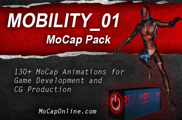MOBILITY_01: MoCap Pack - 3DOcean Item for Sale