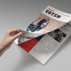 Voten Magazine Template - GraphicRiver Item for Sale