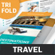 Travel Agency Trifold Brochure 2 - GraphicRiver Item for Sale