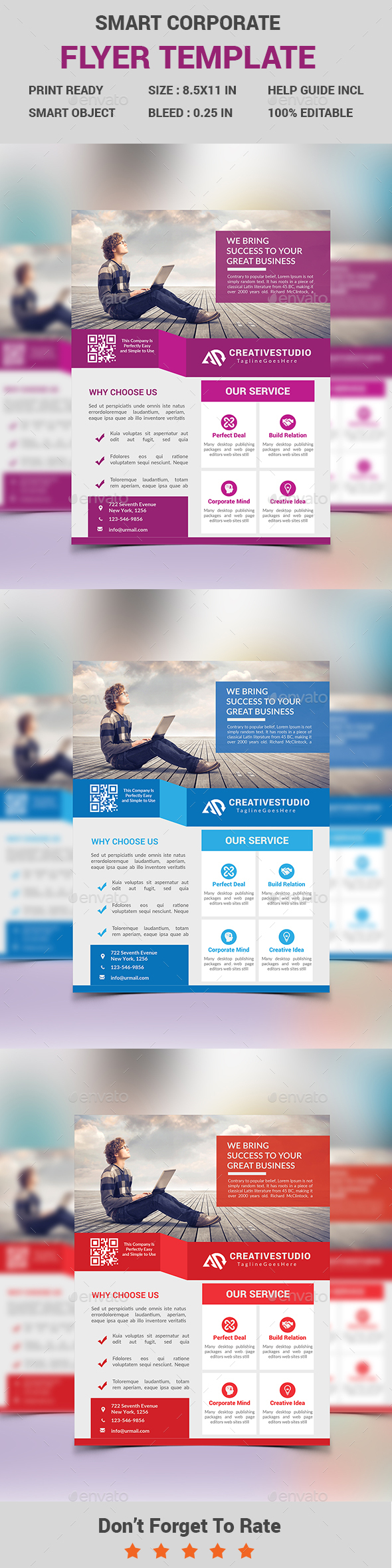 Smart Corporate Business Flyer - Corporate Flyers